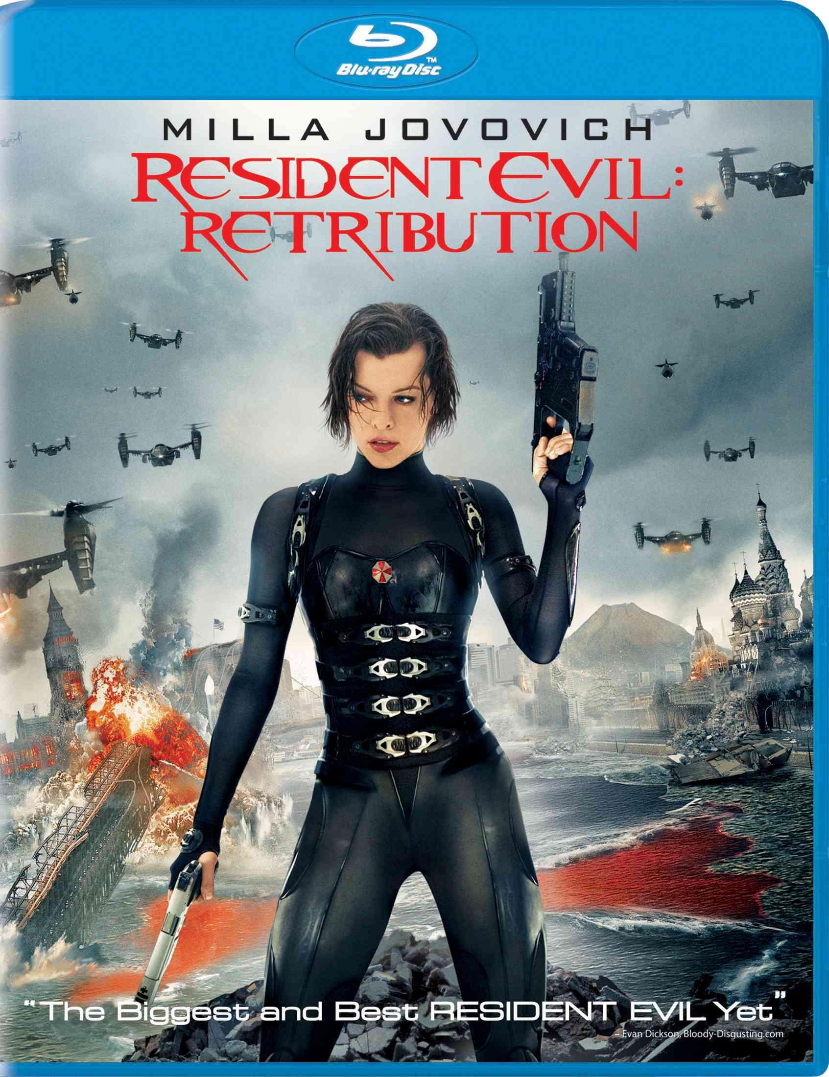RESIDENT EVIL:RETRIBUTION BY JOVOVICH,MILLA (Blu-Ray)