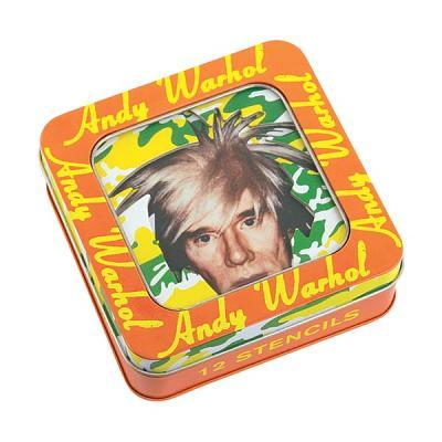 Andy Warhol Stencil Set By Warhol, Andy (CON)